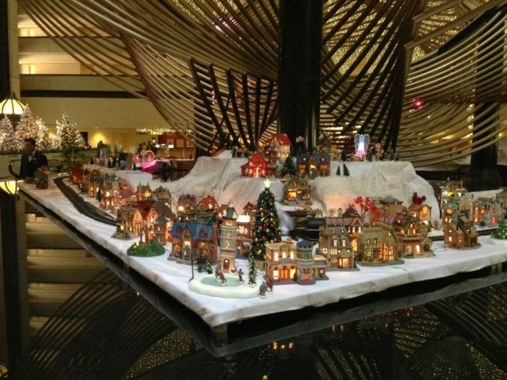 Tiffany's Snow Village