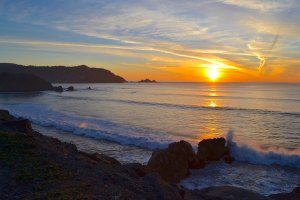 Pacifica Coastline Sunset_Carol Camacho